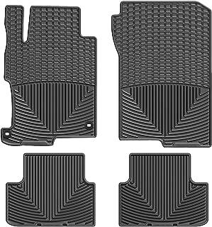 WeatherTech (WTHB293198) Floor Mat, Rubber, Front/Rear, Black