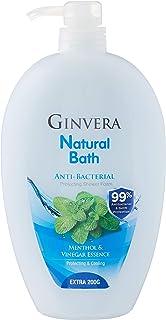 Ginvera Natural Bath Cooling Shower Foam, 1000 g, Anti-Bacteria