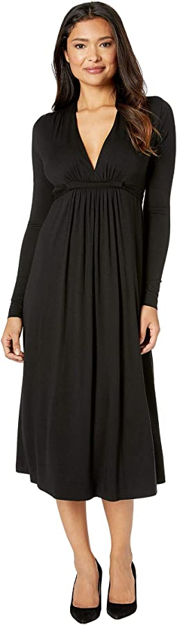 Long Sleeve Midi Caftan
