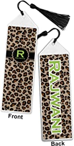 Granite Leopard Book Mark w/Tassel (Personalized)