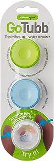 humangear Small Clear/Green/Blue GoTubb 3 Pack
