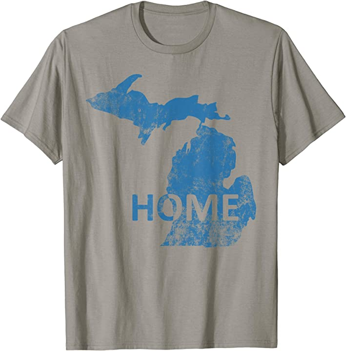 Home - Michigan Lion Blue T-Shirt