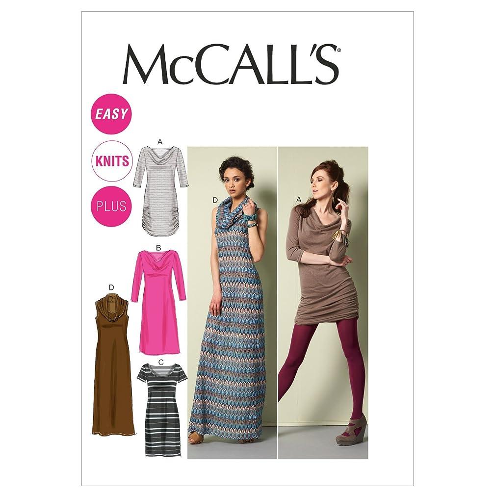 McCall Patterns M6612B50 Misses'/Women's Dresses Sewing Pattern, Size B5 (8-10-12-14-16)