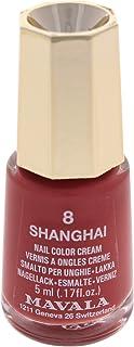 Mavala Nail Lacquer Nail Polish, No. 8 Shanghay, 0.17 Ounce