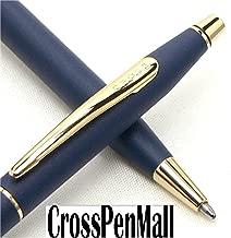 Cross Century Classic Elite Satin Blue & 23 Karat Gold Ballpoint Pen