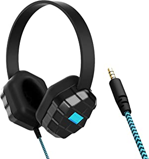 GumDrop Droptech B1 Over-Ear Headphones with Chew-Proof Tangle Free Cord, 3.5mm Audio Jack...
