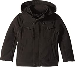 Lennon Softshell Officers Jacket w/ Zip Off Hood (Toddler)