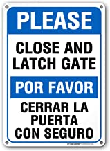 please close the gate after use