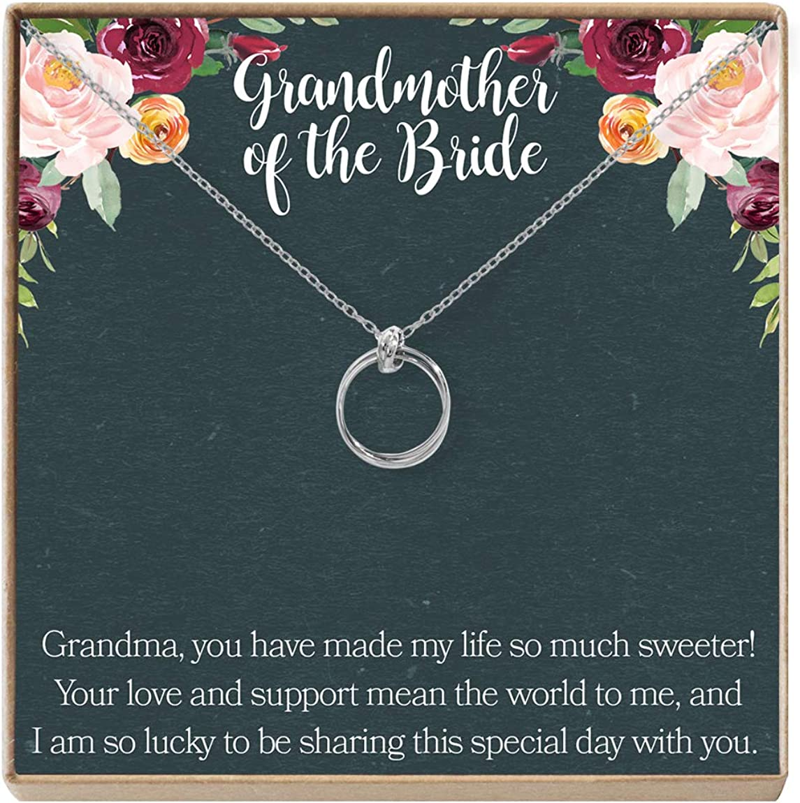 Grandmother of Nippon regular agency the Bride Max 88% OFF Gift Grandma Shower Wedding Necklace: