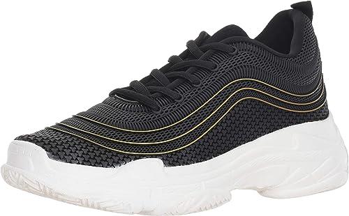 STEVEN by Steve Madden Femmes Chaussures De Sport A La Mode Couleur Noir noir M