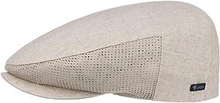 Lipodo Mesh Berretto Piatto in Lino Uomo - Made Italy Cotton cap Berretti irlandesi con Visiera, Fodera, Fodera Primavera/...