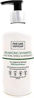 Natural - CHAMPÚ - ALOE VERA NEROLI & BERGAMOTA - 250 ml - de Fine Line Apothecary - Sin Sulfatos Sin Parabenos Sin Sil...