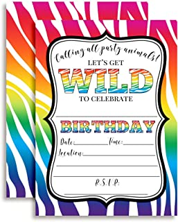 Best zebra print party invitations Reviews