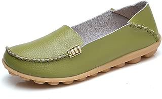 VenusCelia Women's Natural Comfort Walking Flat Loafer(10 M US,pistac)
