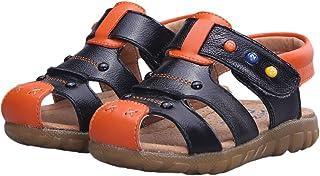 fedfe2a17f26d0 Happy Cherry Baby Boys Girls Prewalker Oxford Sole Genuine Leather Summer  Cute Anti-Slip Closed