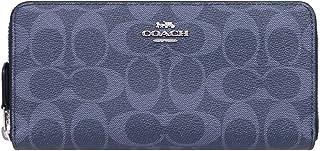 [コーチ] COACH 財布(長財布) F57665 デニム×ミッドナイト デニム シグネチャー PVC レザー アコーディオン ジップ アラウンド メンズ レディース [アウトレット品] [ブランド] [並行輸入品]