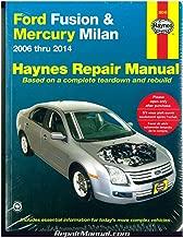 H36045 Haynes Ford Fusion 2006-2014 Mercury Milan 2006-2011 Auto Repair Manual