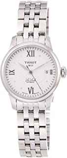 Tissot Analogue Classic Silver Strap Women's Wrist Watches - T41.1.183.16