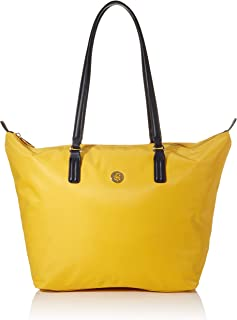 Tommy Hilfiger Women's Poppy Tote Bag, Yellow - AW0AW07956