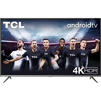 TV TCL 43P616 43 pollici, 4K HDR, Ultra HD, Smart TV con sistema Android 9.0, Design senza bordi (Micro dimming PRO, Smart HDR, HDR 10, Dolby Audio, Compatibile con Google Assistant & Alexa)