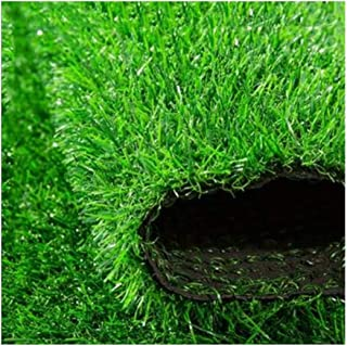 YNFNGX 2m X 1m 25mm Pile Plus Density Artificial Grass Natural And Realistic Garden Courtyard Outdoor Lawn (Color : Summer...