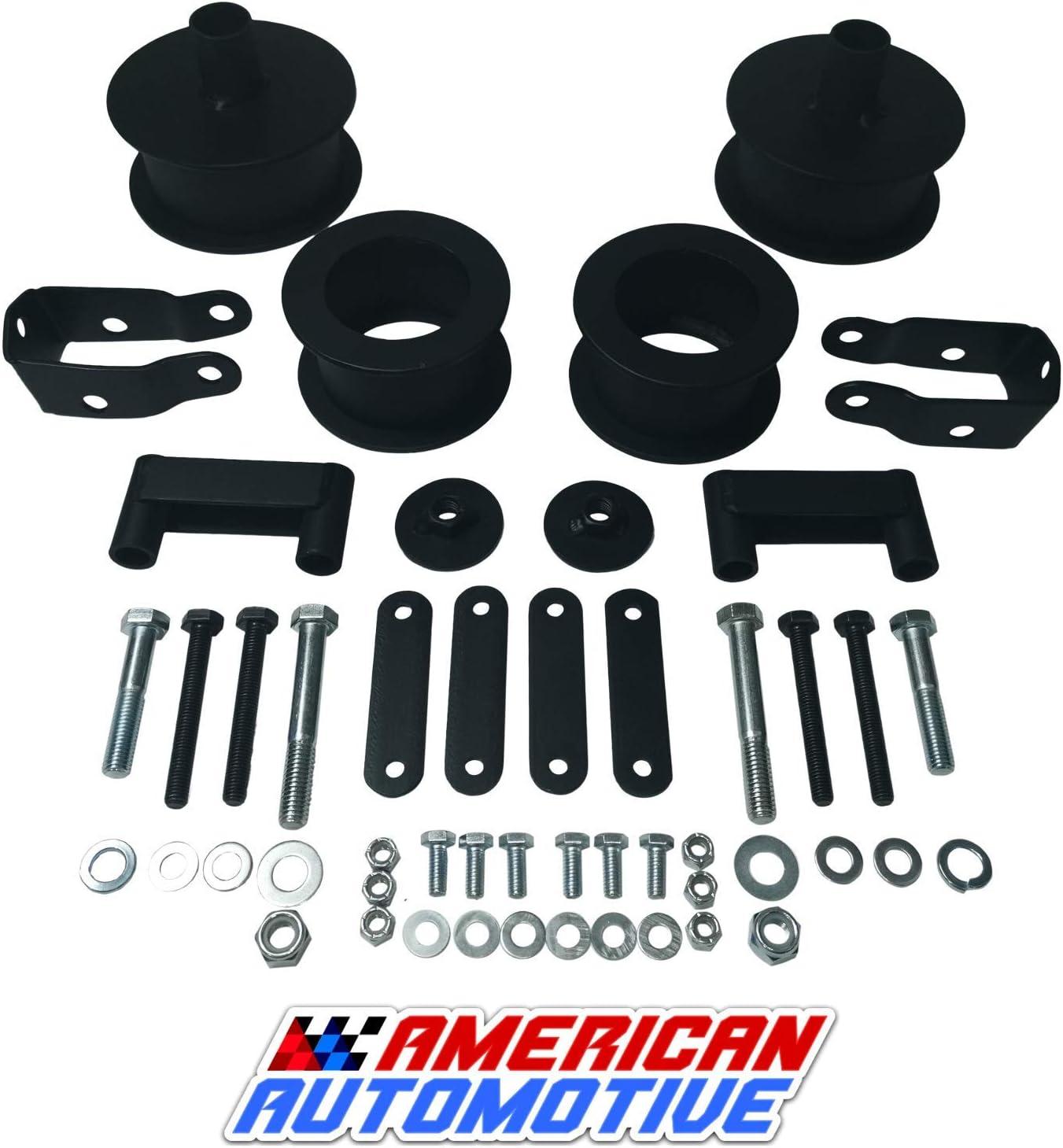 American San Antonio Mall Automotive Wrangler JK Full Max 59% OFF Lift + Rear Front 3