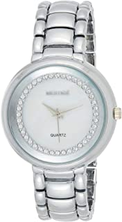 MESTIGE Womens Quartz Watch, Analog Display and Brass Strap MSWA3107
