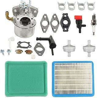 Harbot 798653 Carburetor Tune Up Kit for Briggs & Stratton 110432 110492 110412 111432 120202 120212 121212 121232 Engine