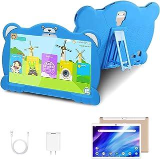 4G Tablet 10.1 Pulgadas Android 10.0 Quad Core Google GMS, DUODUOGO 32GB ROM/128GB Escalables 3GB RAM Tablet PC Batería 8000mAh Double SIM/Cámara WiFi Type-C (Azul)