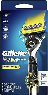 Gillette ProGlide Shield Power Men's Razor Handle + 1 Blade Refill