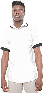 Morgan Visioli Fashion Camiseta Hombre White&Black
