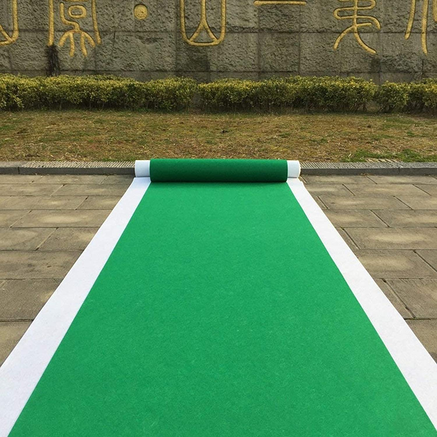 Royare Home Decorations mat Runner Solid color one-time Wedding Wedding Wedding Runner,Outdoor Garden Show Opening Full Shop Thickness of About 2mm Household Products