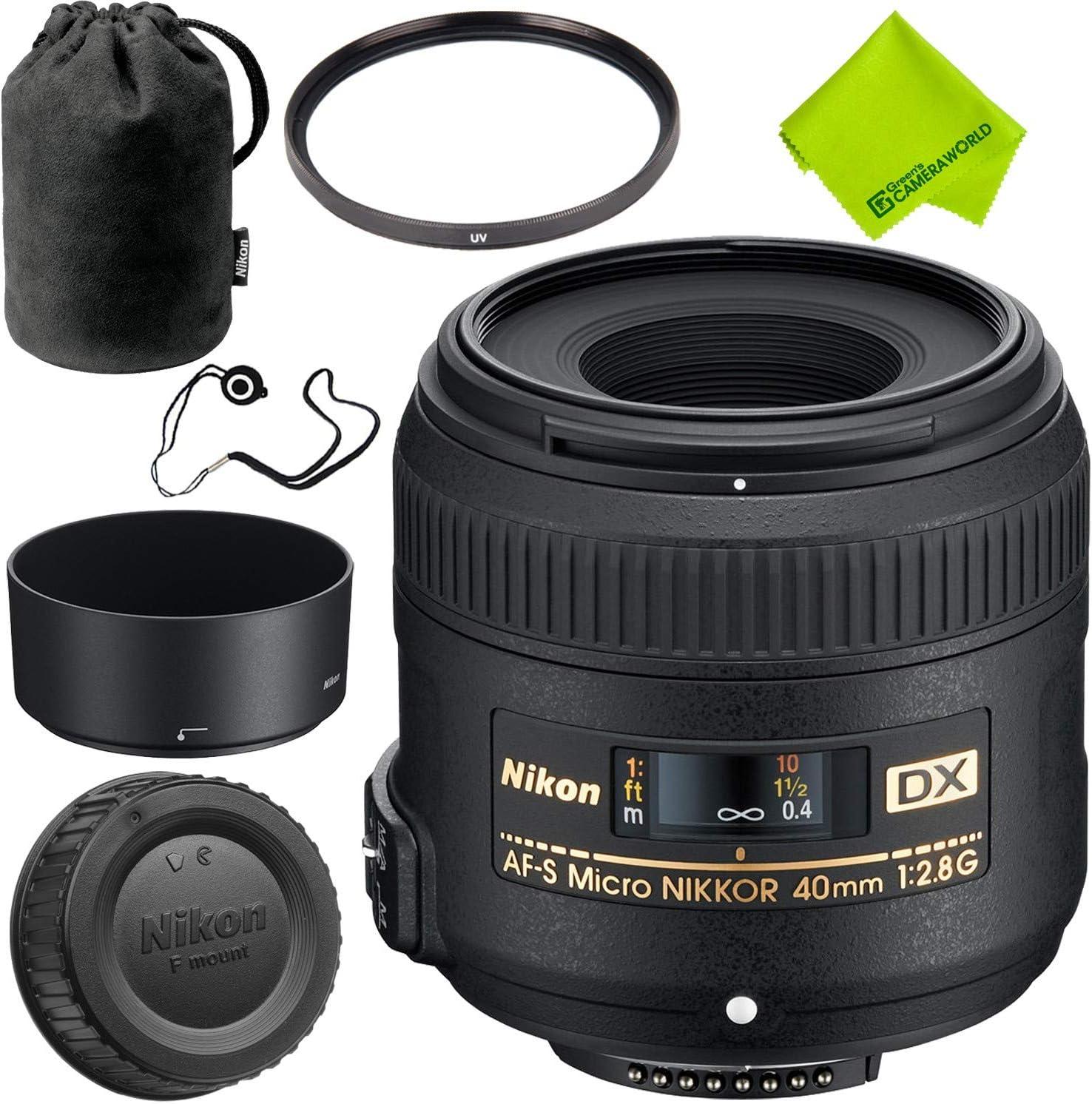 Nikon AF-S DX Micro-NIKKOR 40mm Japan Maker Mail order cheap New Bundle f Base Lens 2.8G