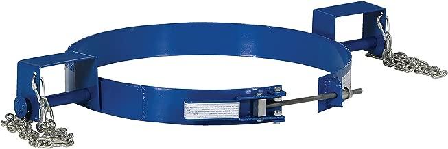 Vestil TDR-55 Steel Tilting Drum Ring, Painted Carbon Steel, 1200 lbs Capacity