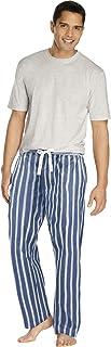 Hanes Mens Sleep Set with Woven Knit Pants