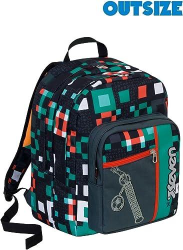 Backpack Seven OutGröße Bundle Boy schwarz