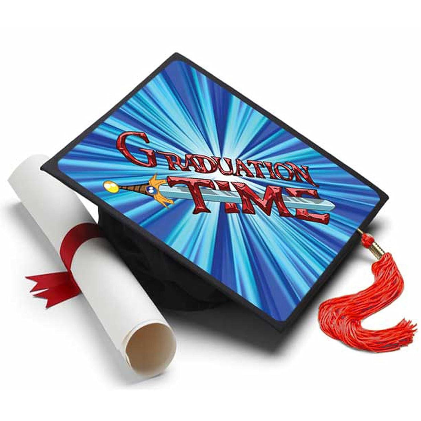 Tassel Toppers Graduation Time Grad Cap Decorated Grad Cap