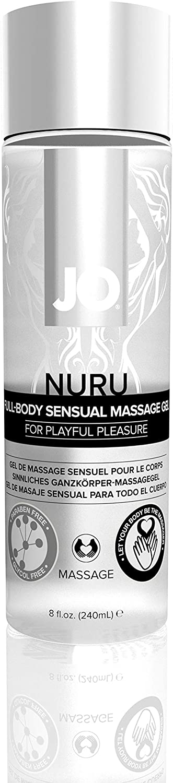JO NURU Massage Gel Fragrance 240 store Popular brand floz Free mL 8