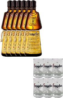 Frangelico Haselnuss 6 x 0,7 Liter  6 Gläser