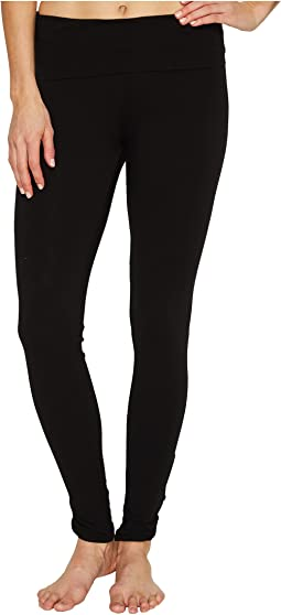 Hard Tail Contour Rolldown Fleur-De-Lis Ankle Leggings