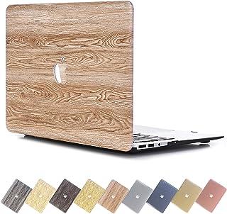 حافظة شبكية لجهاز MacBook Pro 15 بوصة من PapyHall لجهاز Macbook Pro من الخشب الصلب [حماية لكامل الجسم) حافظة بلاستيكية صلب...