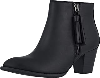 Vionic Women's Upright Madeline Ankle Boot - Ladies Booties with Concealed Orthotic Arch Support