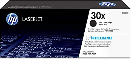 HP 30X CF230X, Negro, Cartucho Tóner de Alta Capacidad Original, de 3.500 páginas, para impresoras HP LaserJet Pro...