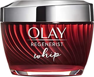 Face Moisturizer by Olay Light Face Moisturizer Cream Oil Free Regenerist Whip, 2 Month Supply