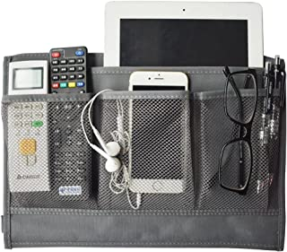 oxe Bedside Storage Organizer,Hanging Storage for Tablet,Phone,Magazine,Accessory and TV Remote (Gary)