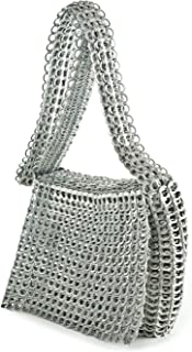 ESCAMA STUDIO Masha Womens Lightweight Cross Body Purse Upcycled Pop Top Bag with Fold Over Flap