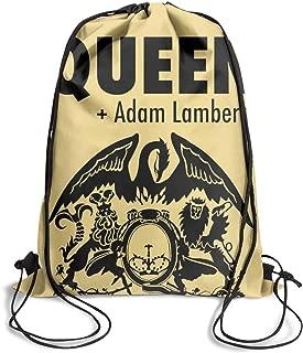 Handbags College Sport Queen+Adam-Lambert- Drawstring Bags for Women & Men