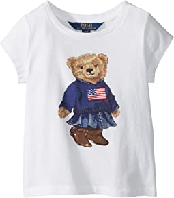 Polo Ralph Lauren Kids - Polo Bear Jersey Tee (Toddler)