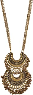 Tiaraz Fashion Silver Plated Pendant Necklace for Girls, & Women