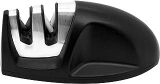 Mimo Style Amolador de Facas Manual, Material de Aço Inox e Plástico Emborrachado de Ótima Qualidade, Leve e Fácil de Mane...
